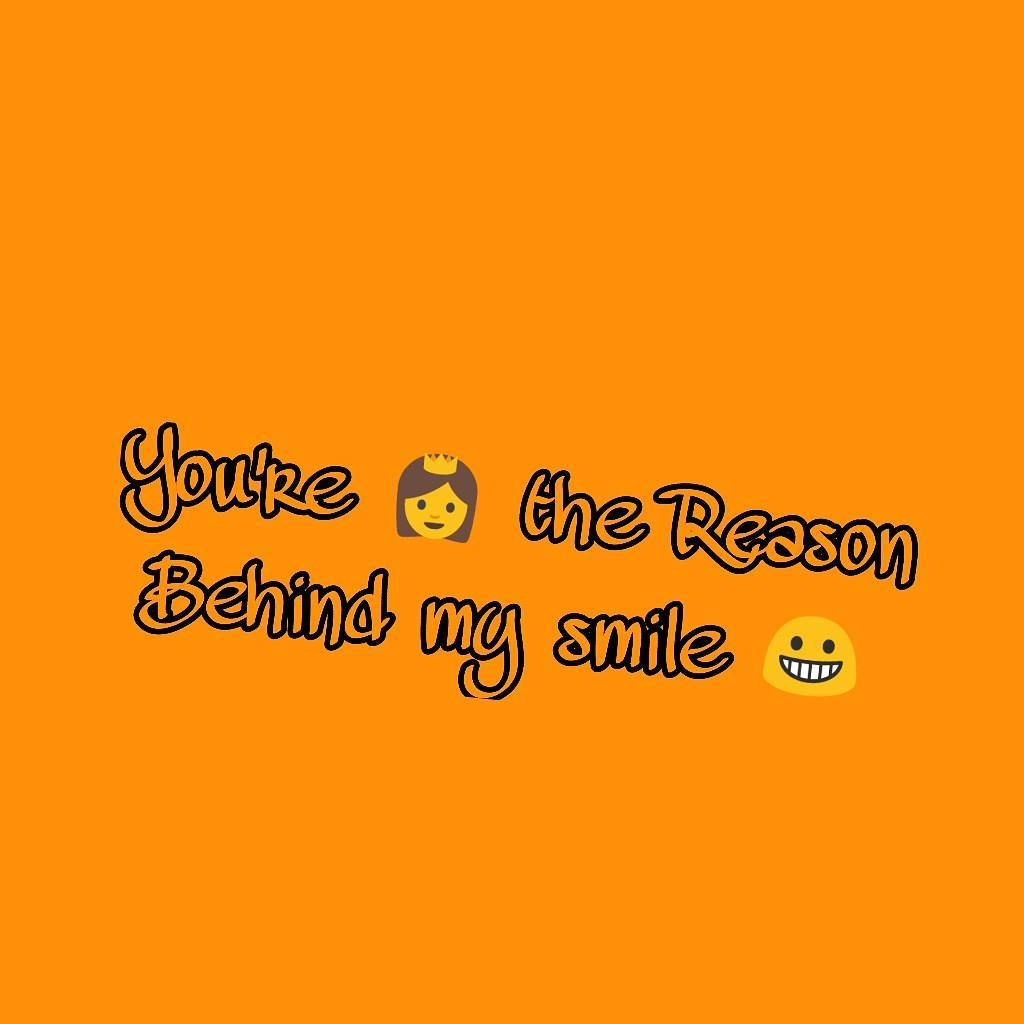 Dear Crush You Are reasone behind my smile Crush quotes