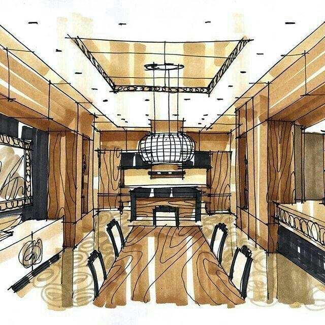 interior design hand drawings. interior design sketches, rendering, sketch design, hand sketch, drawing, architecture, restaurant interiors, croquis, ideas drawings