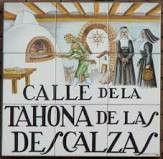 Mosaico de la tahona de las Descalzas MADRID