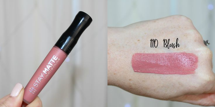Rimmel Stay Matte Liquid Lip Blush Rose Goldmauvedusty Rose