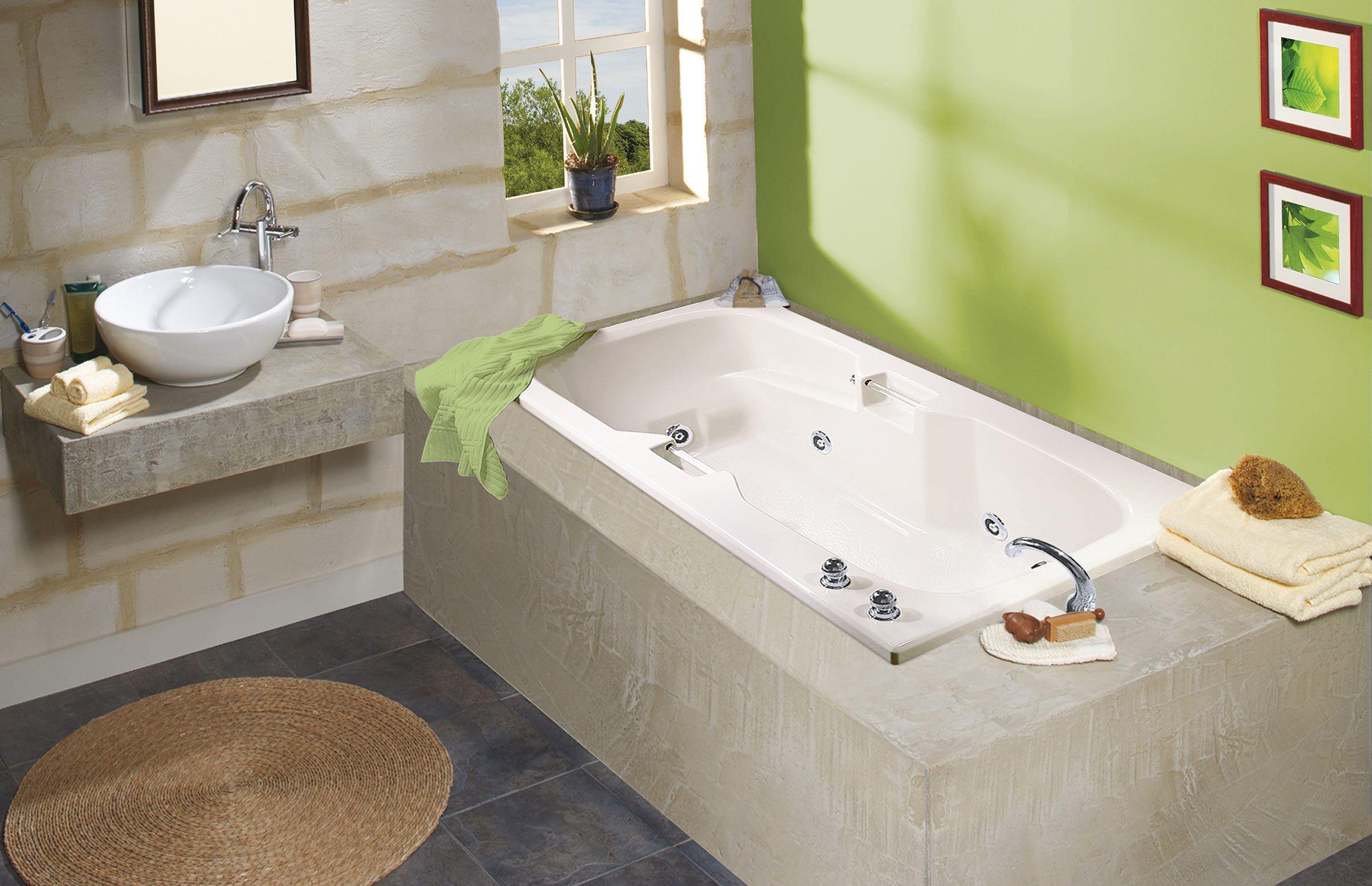 LOPEZ Alcove or Drop-in bathtub - MAAX Professional   Bathroom ...