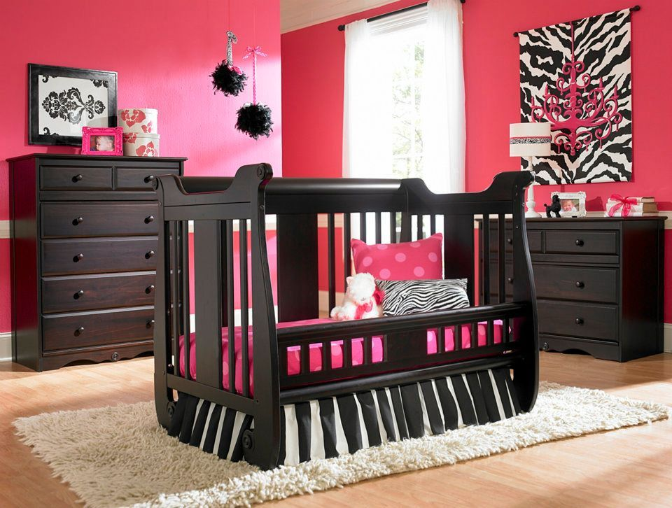 Generation Next Safety Gate Crib Converted Into Toddler