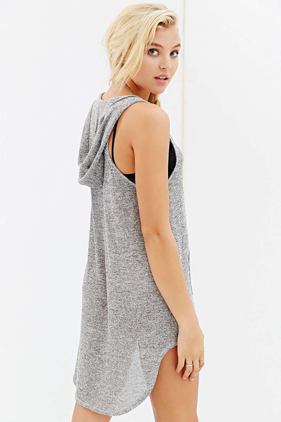 Project Social T Hooded Tank Top