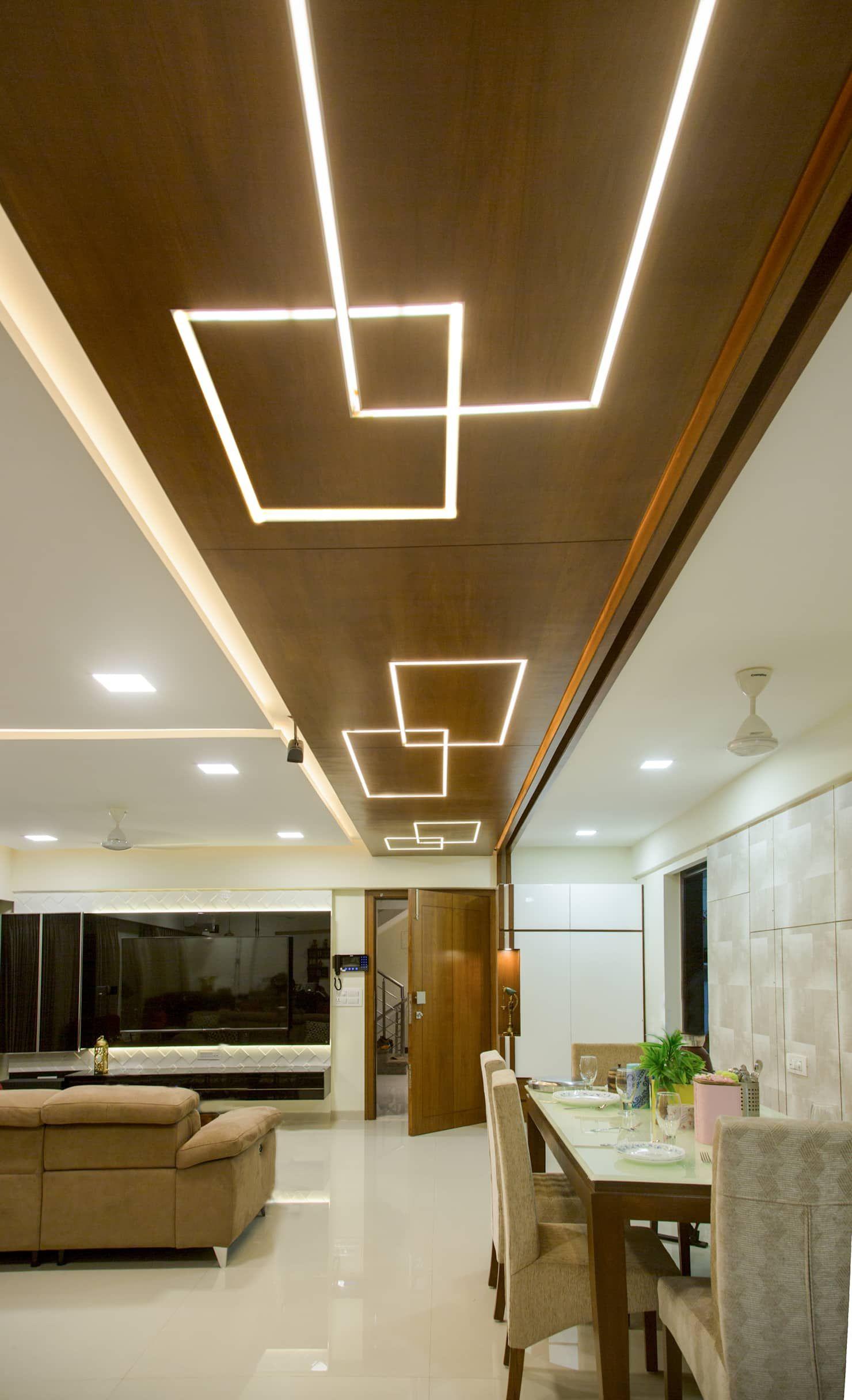 Lakhanis, mumbai urbane storey modern living room | homify ...