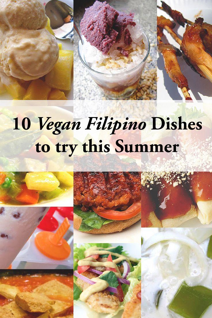 20 Vegan Filipino Dishes for the Summer   ASTIG Vegan   Filipino ...