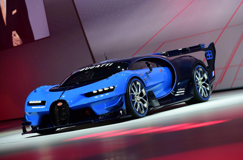 The bugatti vision gran turismo is like a window to bugatti future