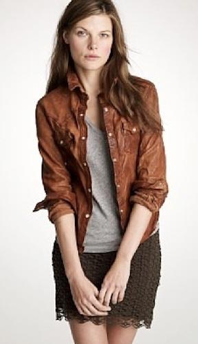 leather jacket- style