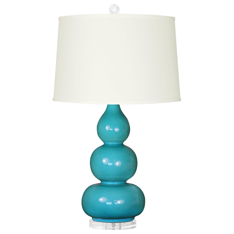 Bungalow 5 Hutton Dark Turquoise Table Lamp Base Layla Grayce