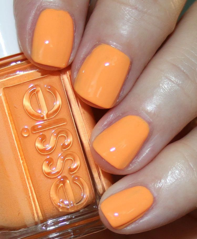Essie Summer 2019 Collection With Images Orange Nail Polish