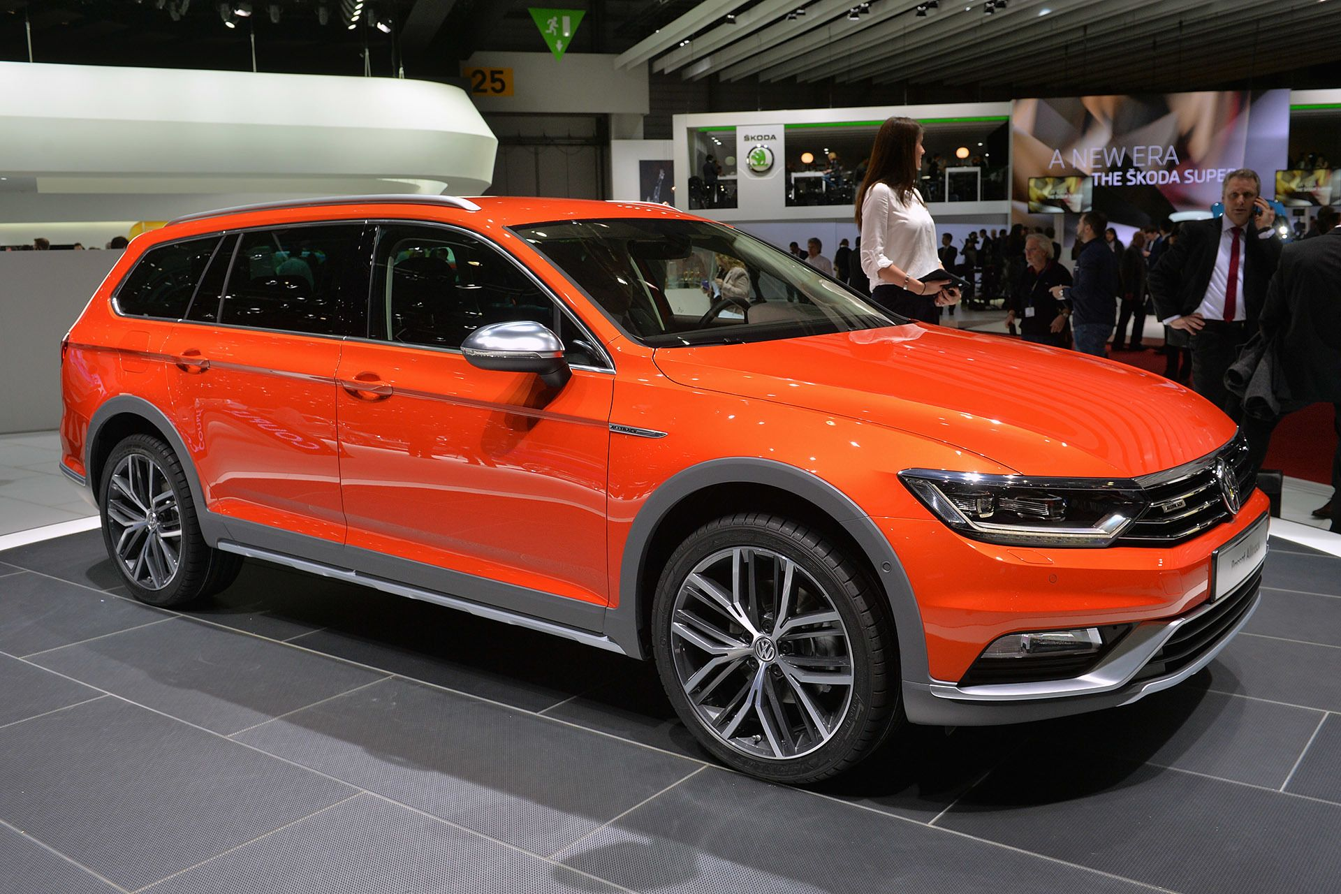 2015 Volkswagen Passat Alltrack ready for any road except in the US