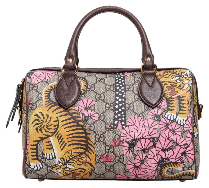 9e72485a752d4b Save 13% on the Gucci 2017 Supreme Bengal Tiger Top Handle Satchel! This  satchel is a top 10 member favorite on Tradesy.