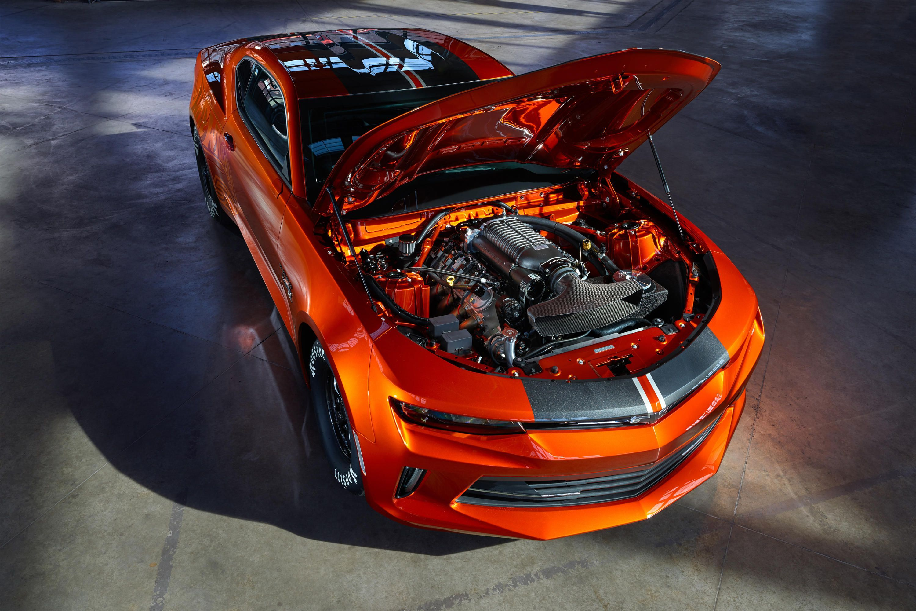 2018 Chevy Copo Camaro Is An 8 Second Factory Drag Beast Camaro Engine Chevrolet Camaro Chevrolet