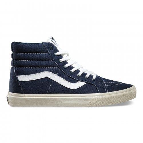 0aace3c86f Vans Sk8-Hi Reissue Shoes (10 Oz Canvas) Verdant Green Marshmallow ...