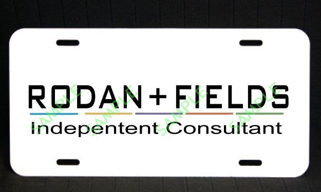 Rodan + Fields Independant Consultant License Plate/Tag
