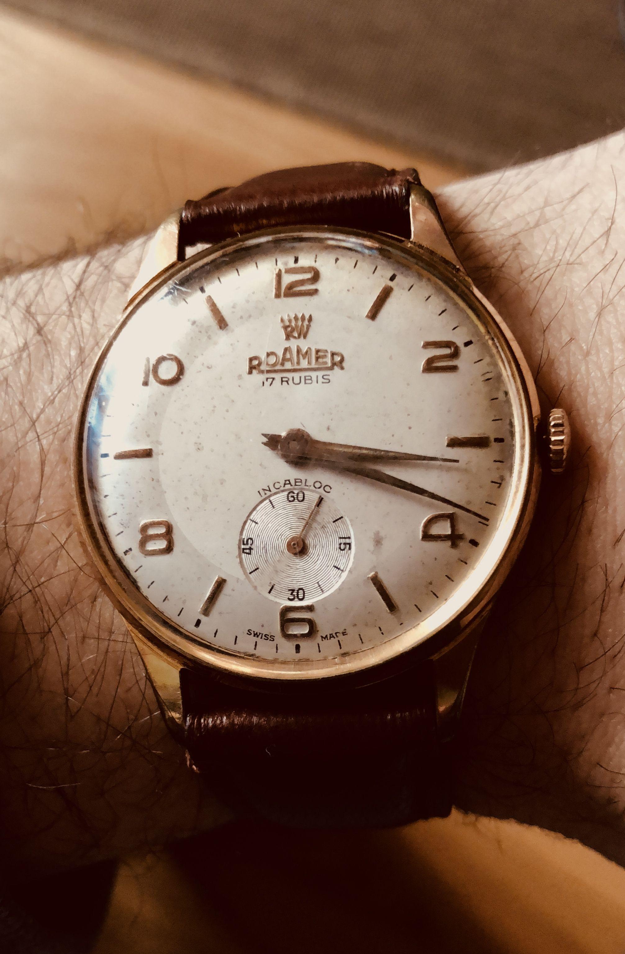 large choix de designs nouveau design vente chaude Roamer, Incabloc 17 rubis #watch #vintage | Vintage watches ...