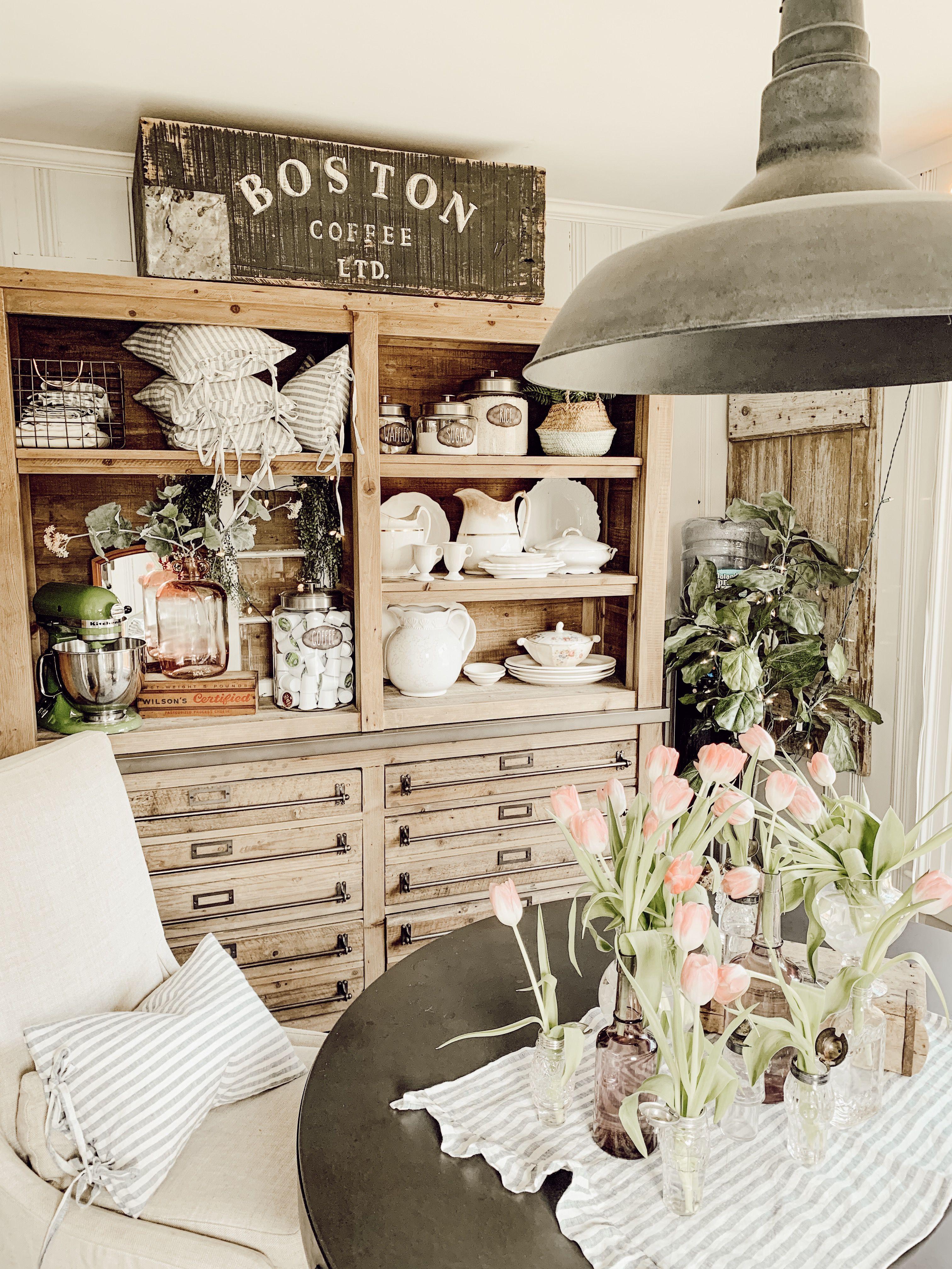 Farmhouse Cottage Kitchen Restoration Hardware Furniture With