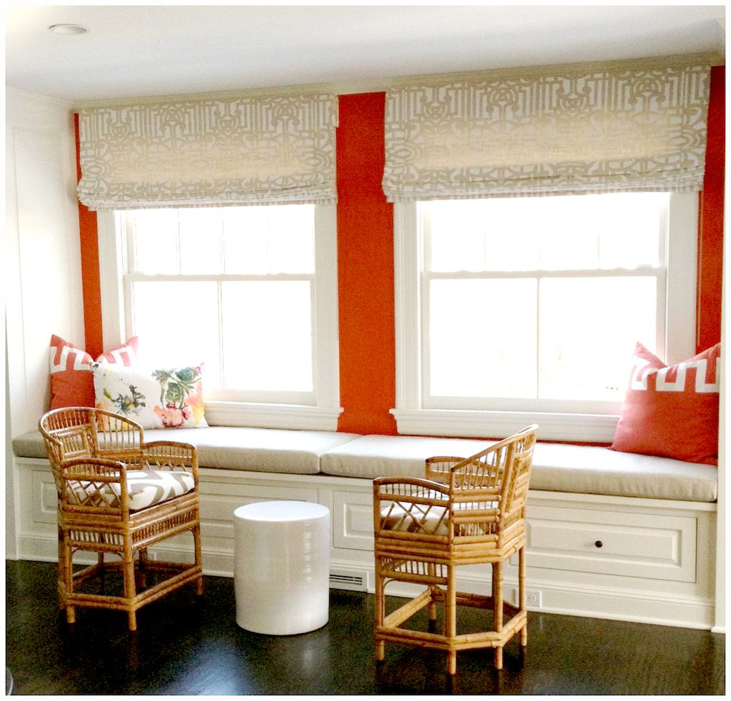 Window decor and more orange beach  drapes in natural ping latte  side  out  pinterest