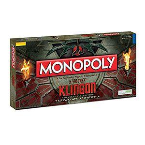 Star Trek Klingon Monopoly - Exclusive   ThinkGeek