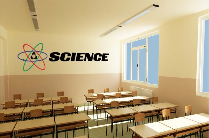 Attractive Science Wall Decor Festooning - All About Wallart ...