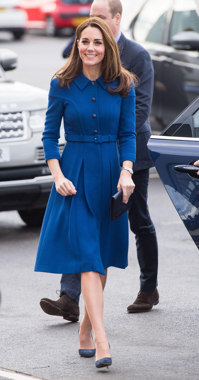 Kate Middleton Le Copia El Truco Del Abrigo Vestido A Meghan