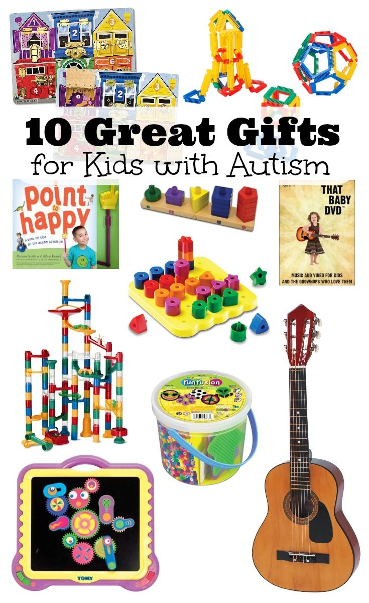 10 Great Gift Ideas For Kids With Autism Plus Crafty Gifts Pets And More