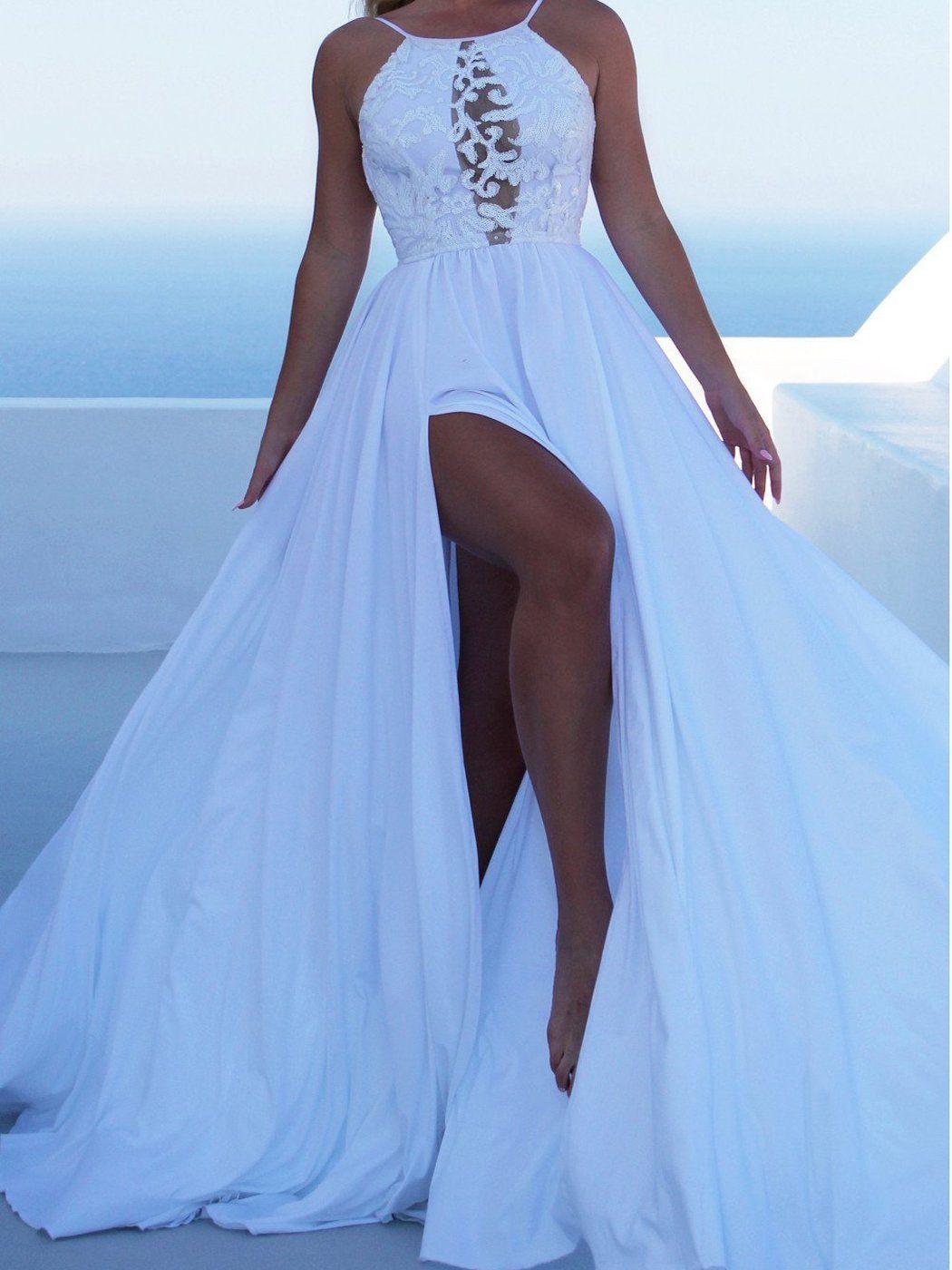 new sleeveless sling evening dress dresses pinterest