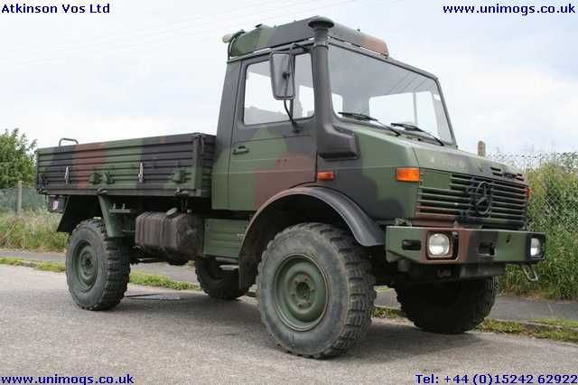 Ex German Army Unimog? Perfect for popping out to dinner in