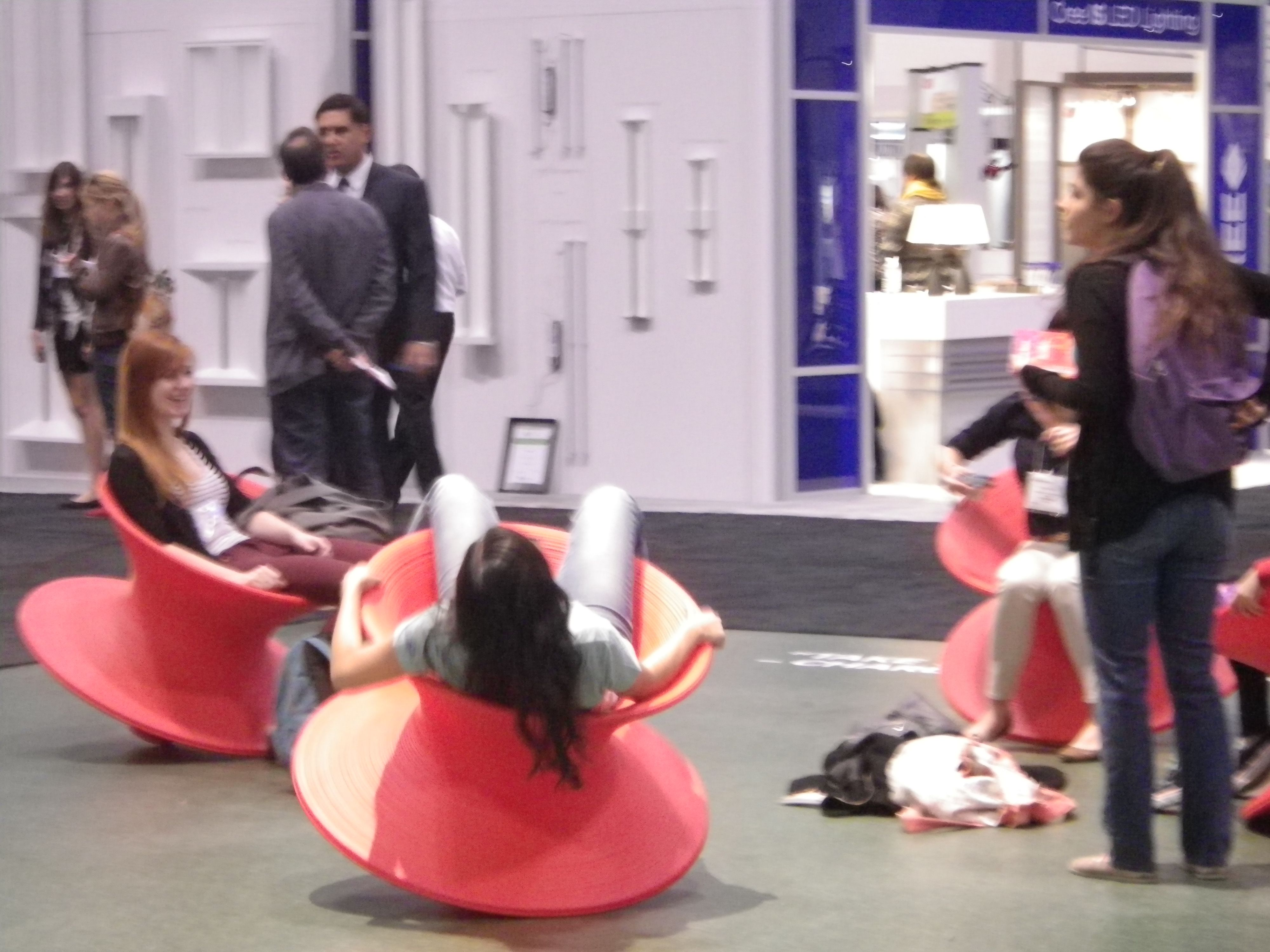 IIDEX 2013 The second surprise of the show Spun chairs in the Herman Miller & IIDEX 2013: The second surprise of the show Spun chairs in the ...