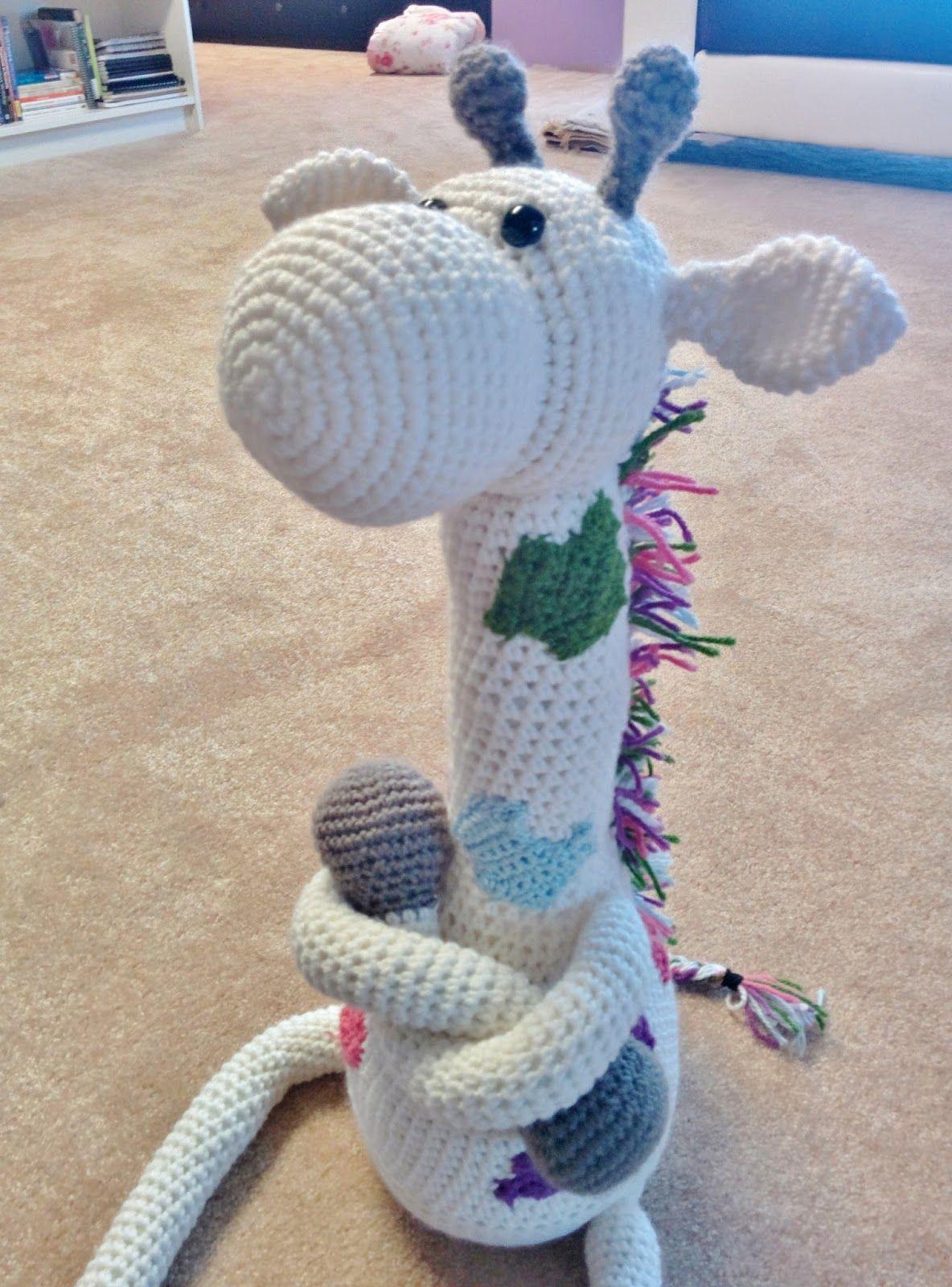 Jeremy The Giraffe: Crochet Giraffe Pattern | Crochet giraffe ...