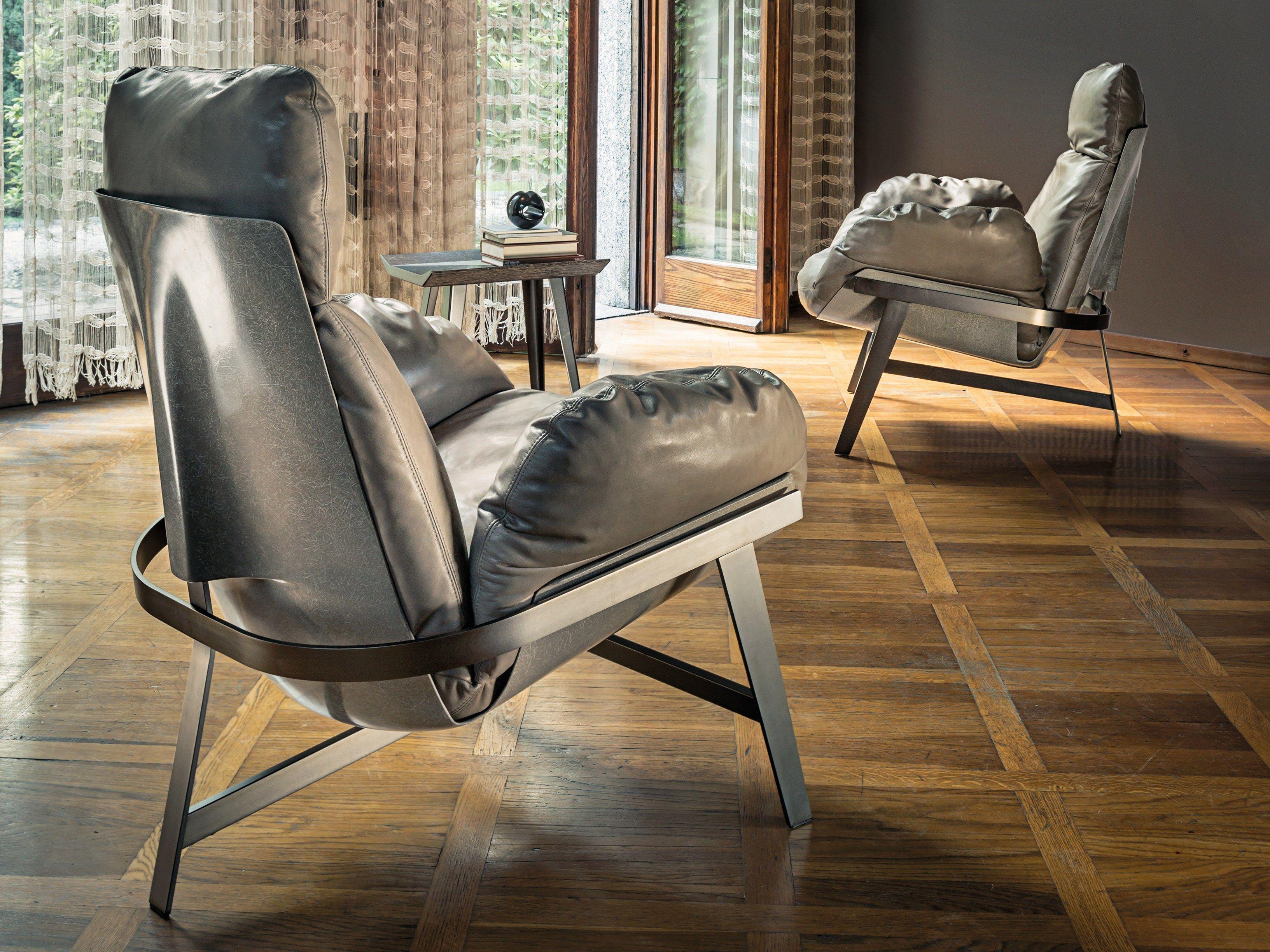 De jupiter armchair is een hoogwaardig afgewerkte luxe design