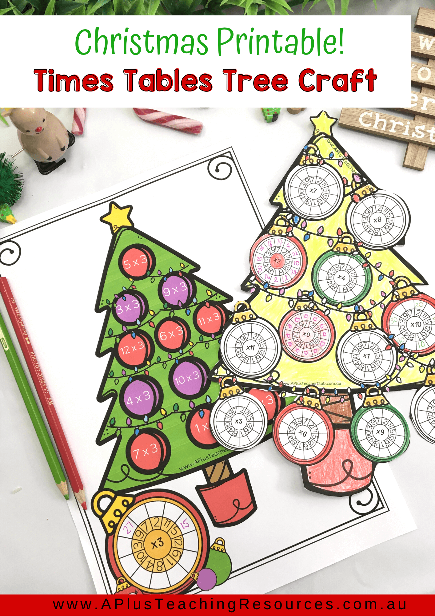 Festive Fun Christmas Times Tables Multiplication