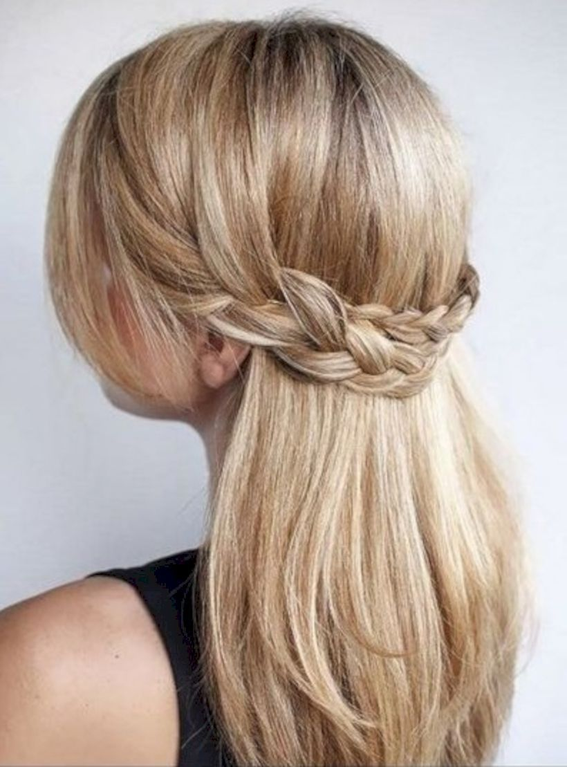 67 Quick and Easy Ideas for Back to School Hairstyle for Teens ...