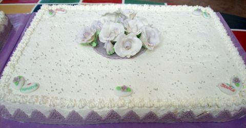 di matrimonio con panna - Cerca con Google  torte di frutta ...