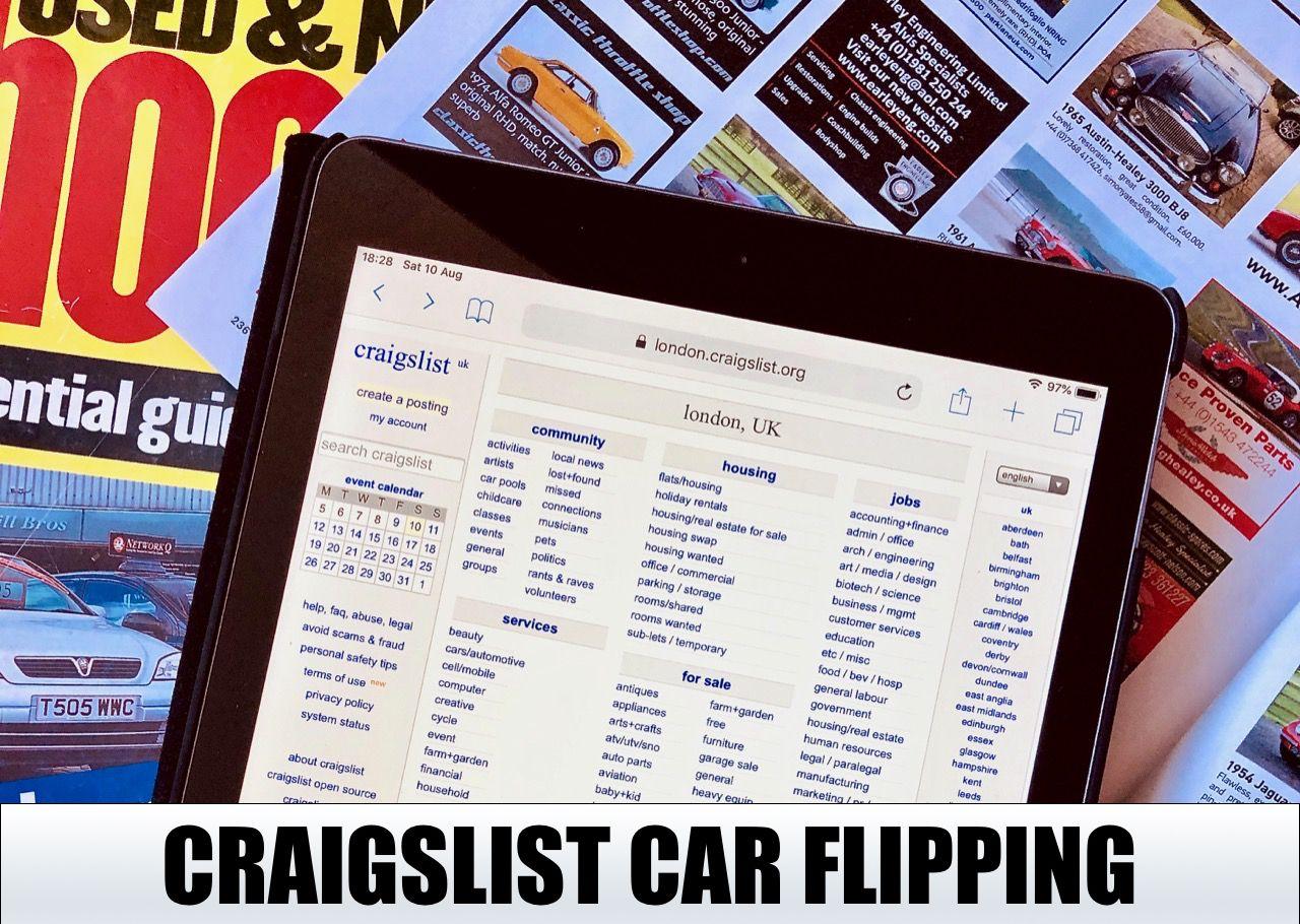 How to flip cars on craigslist. | Craigslist cars, Sell ...