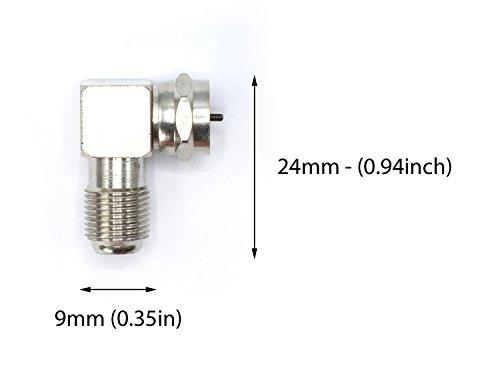 High Quality Coaxial Cable Right Angle Connector for Tight