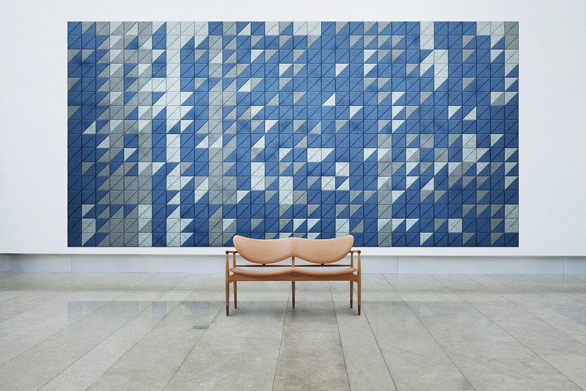 Decorative Acoustic Tiles Alluring Baux  Tiles Triangle  Interiors  Pinterest  Walls Wallpaper Decorating Inspiration