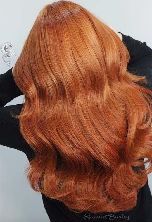 Photo of 57 ideas de color de cabello Flaming Copper para cada tono de piel