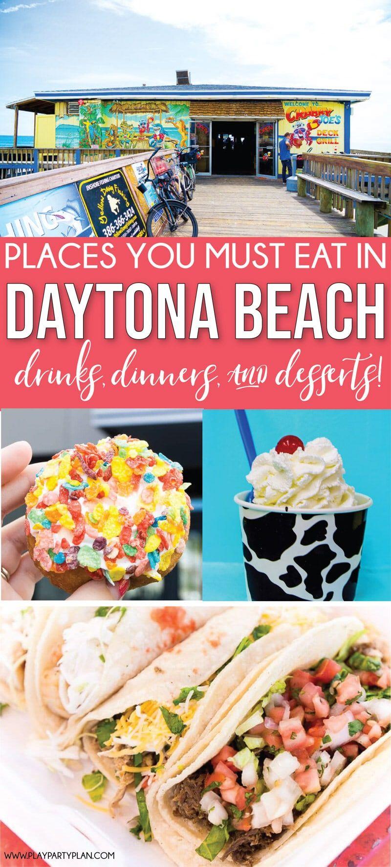 11 Of The Best Daytona Beach Restaurants Daytona Beach Daytona Beach Restaurants Daytona Beach Florida