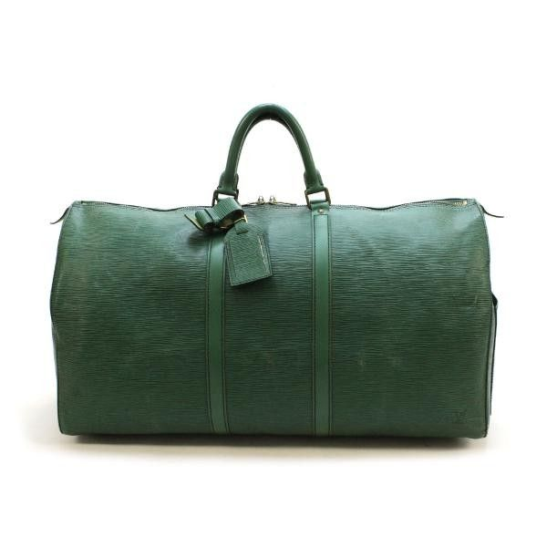 Louis Vuitton  Keepall 55 Epi Luggage Green Leather M42954