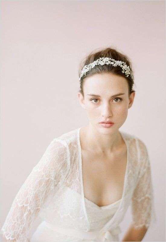 nuovi prodotti per seleziona per genuino migliore qualità per Acconciature sposa con cristalli Swarovski - Cerchietto ...