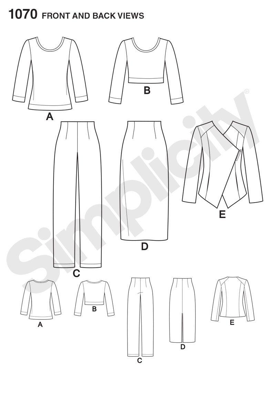 Pattern Reviews> Simplicity> 1070 (Misses\' Sew Stylish Sportswear ...