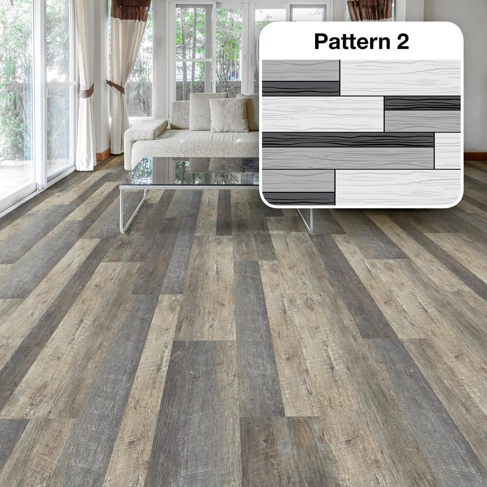 Lifeproof Metropolitan Oak Multi Width X 47 6 In L Luxury Vinyl Plank Flooring 19 53 Sq Ft Case I1148103l The Home Depot Luxury Vinyl Plank Flooring Luxury Vinyl Plank Lifeproof Vinyl Flooring