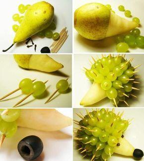 Essen Dekoration 45 coole essen ideen und diy essen dekorationen fruit ideas