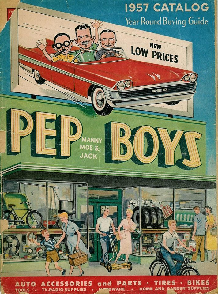 Pep Boys Catalog Cover | Parts is Parts | Pinterest | Catalog cover ...