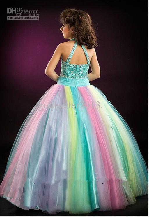 Rainbow Wedding Dress   Rainbow Wedding Dresses Dresses wedding ...