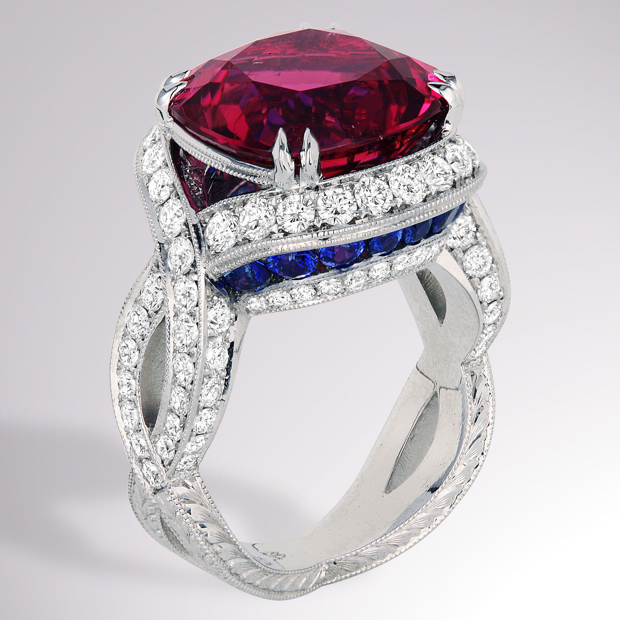 This colorful ring is a sure way to accessorize your