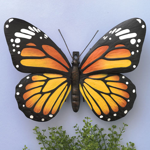 Metal Monarch Butterfly Wall Art Bits And Pieces Monarch Butterflies Art Butterfly Wall Butterfly Art Painting