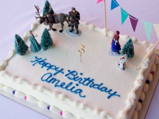 Disneys Frozen Birthday Cake Cupcake Ideas Birthday cakes
