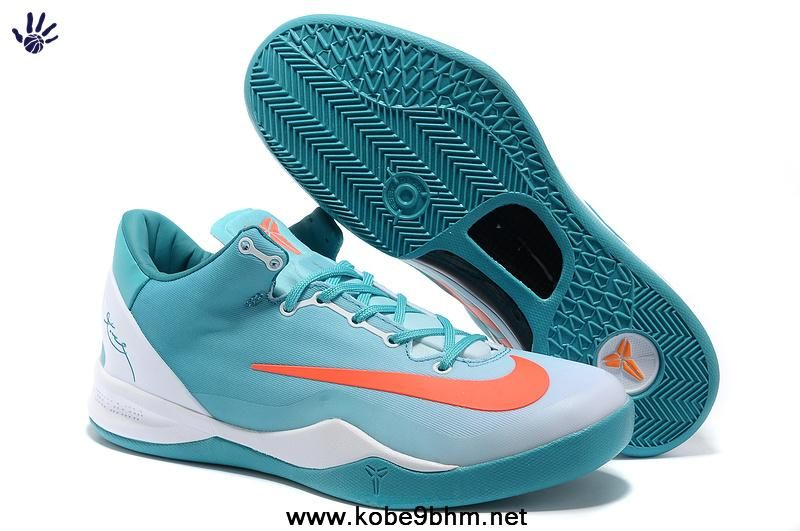 Discount Kobe 8 System MC Mambacurial FB 615315 500-3 Calypso Blue White  Siren Red Sale Now 0395955ab623