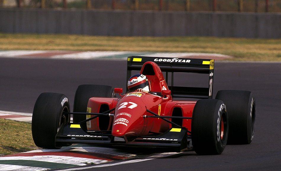 Image result for 1992 mexican grand prix capelli